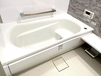 ゆったりとリラックスできる浴室になり満足しております。