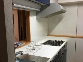つぎ目や隙間がない、なめらか形状のカウンターが特徴のトクラスのキッチン