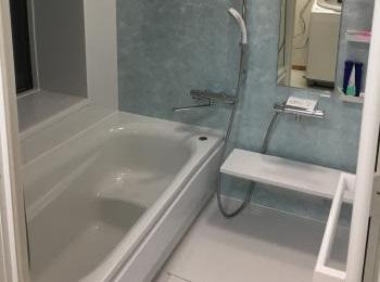 一戸建てタイル貼り浴室からのリフォーム