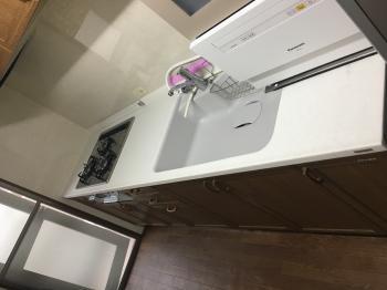トクラスの汚れや熱に強くずっとキレイに使える天板に交換!