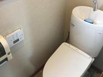 TOTOのセフィオンテクト便器でお掃除もらくらく。