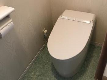 快適機能を凝縮したシンプルなタイプのタンクレストイレです。