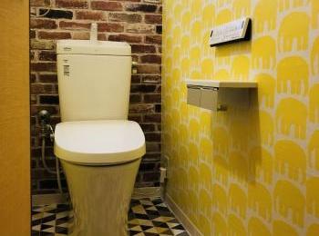 お掃除ラクラクの形状でいつでもキレイ、地球環境に配慮した強力洗浄の超節水トイレ【 アメージュZ便器】