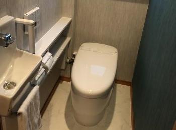 新規の給排水管を立ち上げることが難しい場所でも、手洗器付きのネオレストを設置できます!