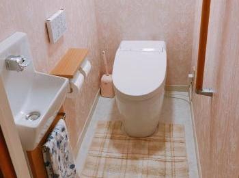 陶器表面がナノレベルでなめらかなので、カビや汚れが付きにくく落としやすいTOTOのトイレ。