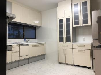 トクラスのBbを採用。明るいキッチンになりました。