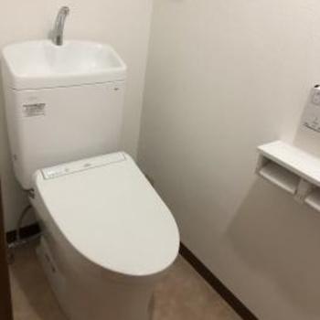 シンプルでお掃除しやすいTOTOのトイレ『ピュアレストQR』