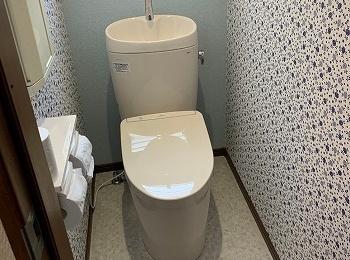 きれい除菌水でお手入れがしやすいトイレになりました。