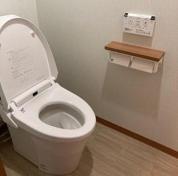 お掃除ラクラクの形状でいつでもキレイ、地球環境に配慮した強力洗浄の超節水トイレ【アメージュZ便器(フチレス)】